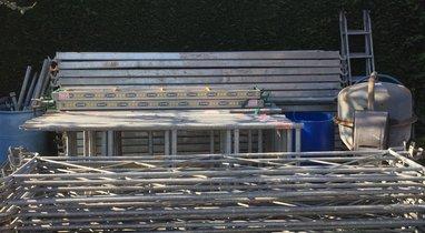 100 square meters, Lecelles scaffolding rental €200