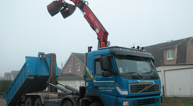 15 T Diéval VOLVO dump truck