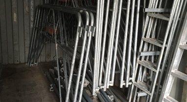 Rental scaffold 50 m square Montdidier €500