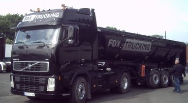 Rental trailer tipper Volvo Querrieu