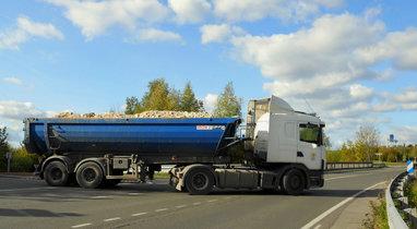 Rental trailer tipper Scania Querrieu