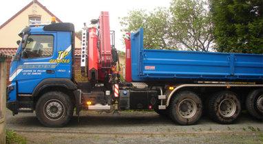 20 T Diéval VOLVO dump truck rental