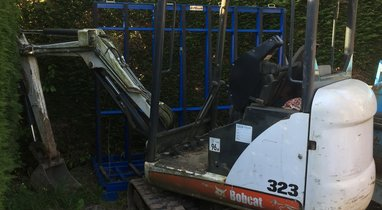 Bobcat 323-1, 6T, Lecelles mini excavator rental €100