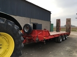 Rental tractor trailer door-gear 32 tons Amiens €300